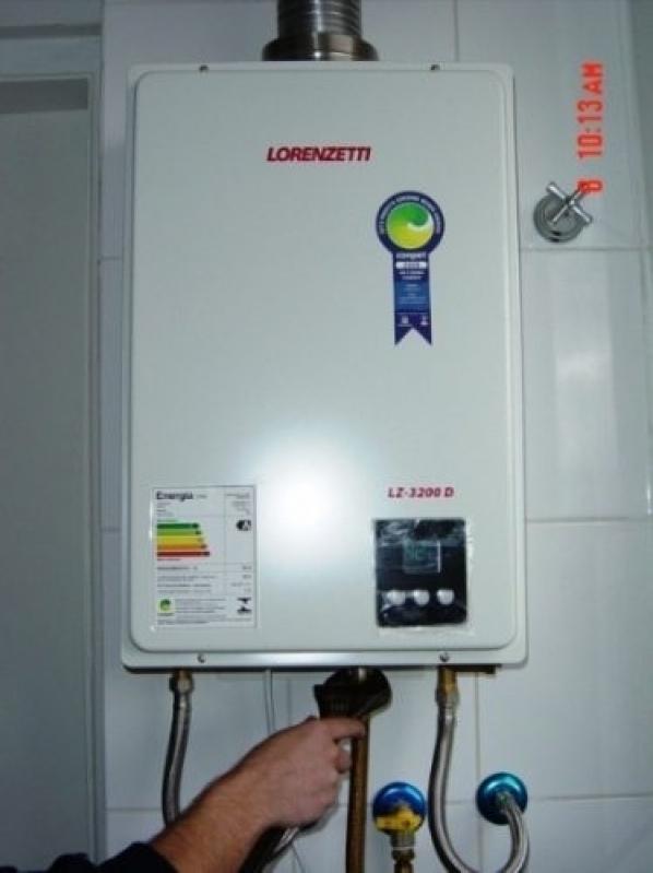 Instalação de Aquecedor água Bosch São Vicente - Aquecedor Bosch Gwh 350