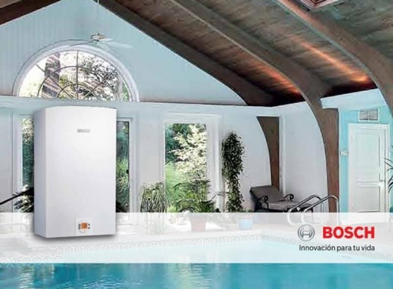 Instalação de Aquecedor Solar Bosch Buderus Lapa - Aquecedor Bosch a Gás