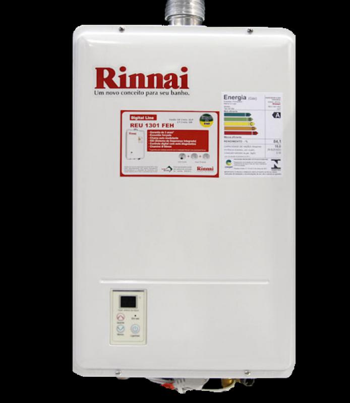 Quanto Custa Aquecedor á Gás Rinnai Cupecê - Aquecedor água Rinnai