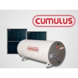 Aquecedor Solar Cumulus para água
