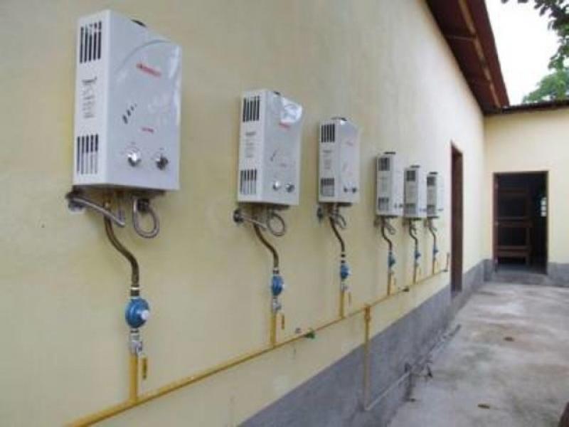 empresa de aquecedor a gás cml 7 Bertioga