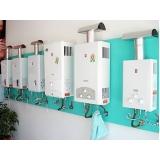 manutenção aquecedor de água a gás