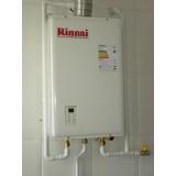 manutenção em aquecedor a gás rinnai Sorocaba