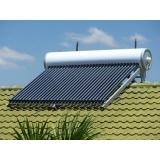 sistema de aquecimento solar com apoio a gás Raposo Tavares