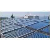 sistema de aquecimento solar para água Jaguaré