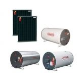 sistema de aquecimento solar para banho e cozinha Sacomã