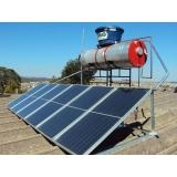 sistema de aquecimento solar residencial Piqueri