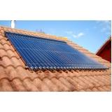 sistema de aquecimento solar Jardim Santa Helena