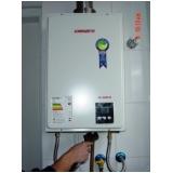 sistema de aquecimento solar de água em residência